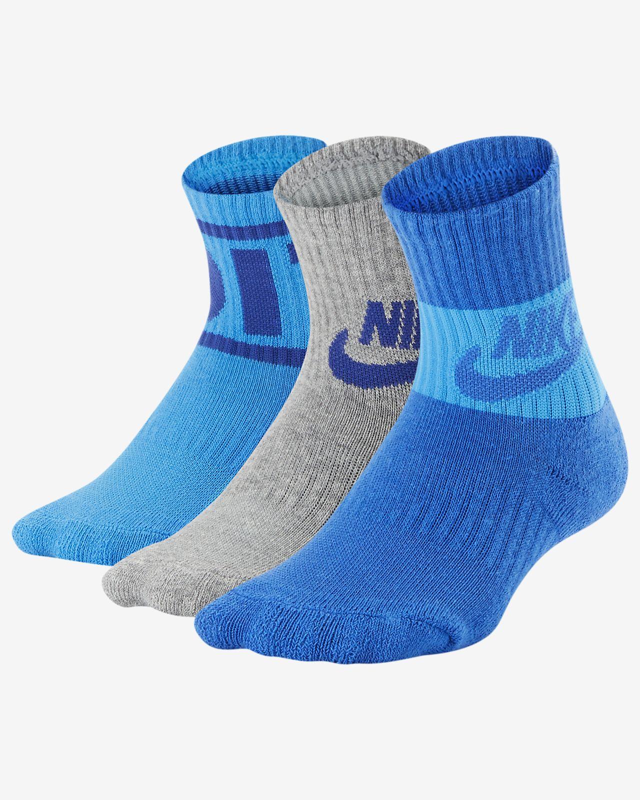 Nike  Little Kids' JDI Crew Socks (3 Pairs)