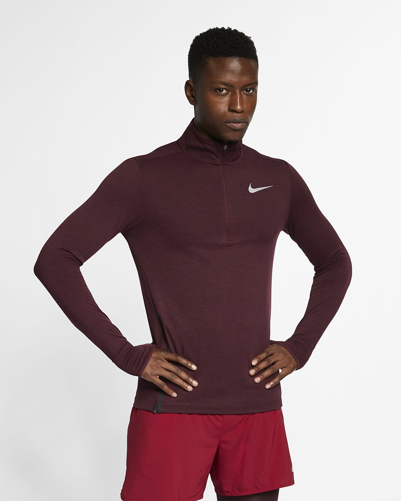 882cad92 Nike Therma Sphere Element Men's 1/2-Zip Running Top. Nike.com