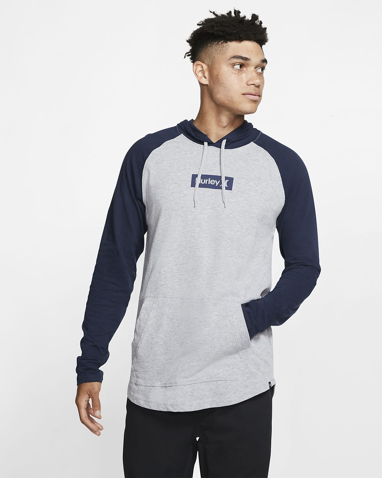 Sweat à capuche Hurley Premium One and Only Box pour Homme