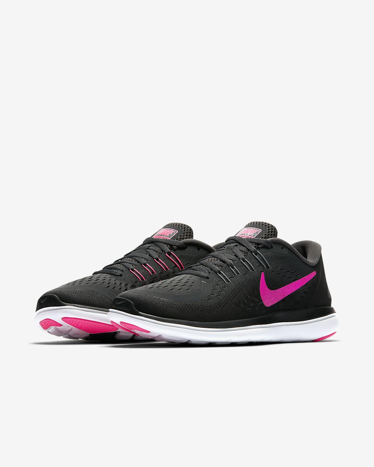 visite à vendre sites de sortie Nike Femmes Run Flex Chaussures De Course - Photo En Noir / Rose réel pas cher pas cher Finishline offre pas cher mUpVPZIbiI