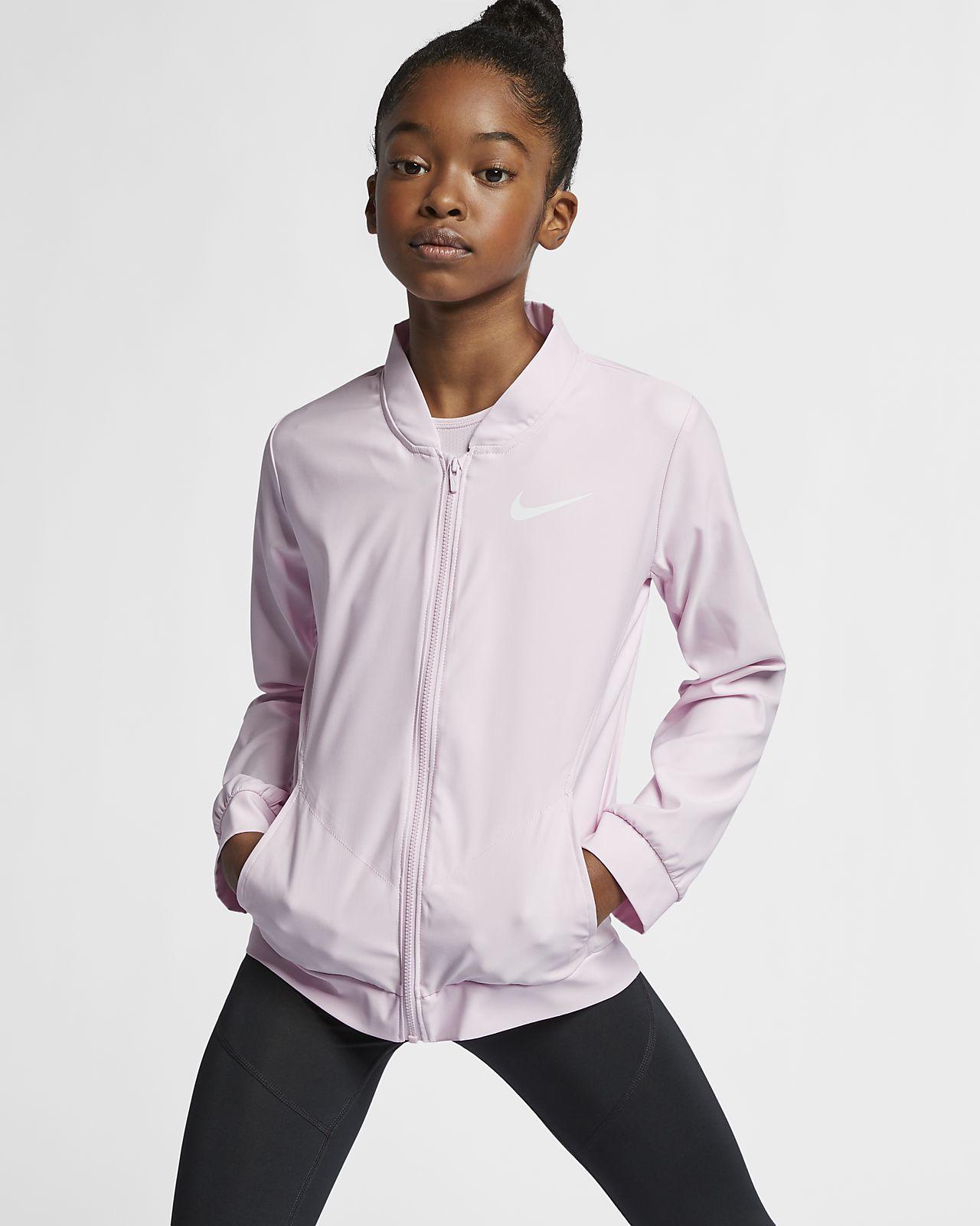 Nike Big Kids' (Girl's) Woven Training Jacket