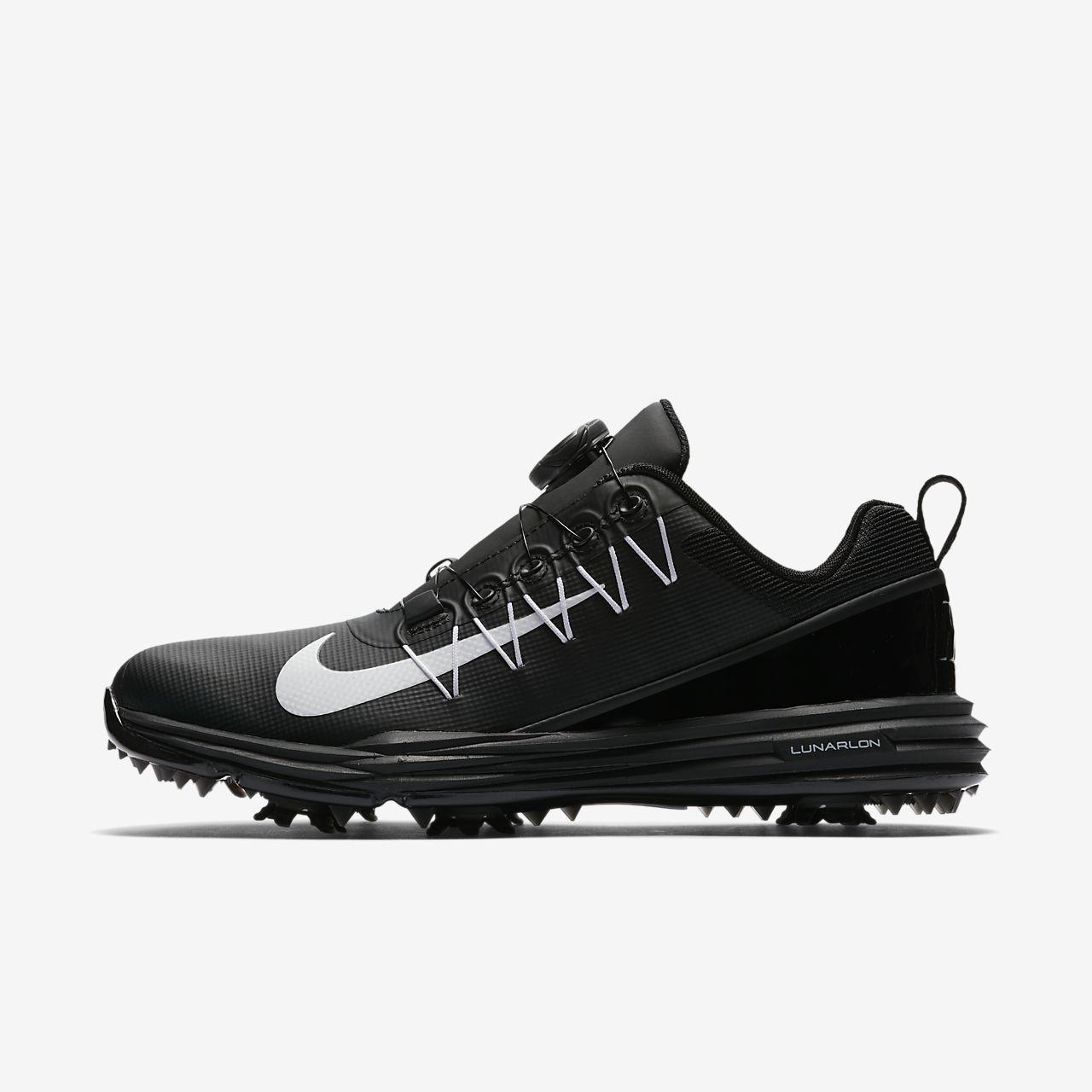 Nike Damen Wmns Lunar Command 2 Boa Golfschuhe, Schwarz (Negro 001), 38 EU