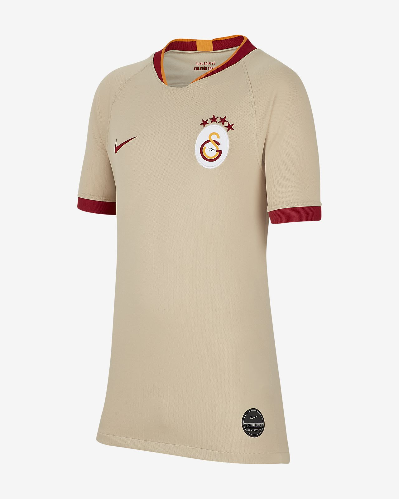 Maillot de football Galatasaray 2020 Stadium Away pour Enfant plus âgé