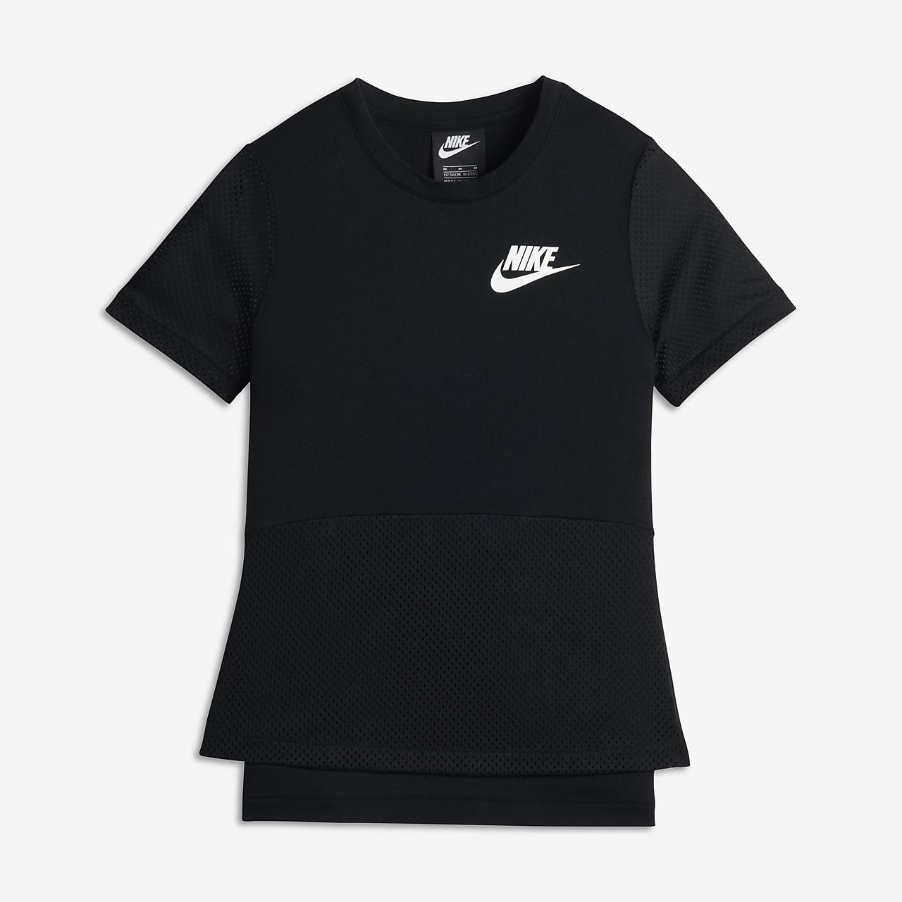c0421adf057e Nike Sportswear Older Kids  (Girls ) Short-Sleeve Top. Nike.com GB