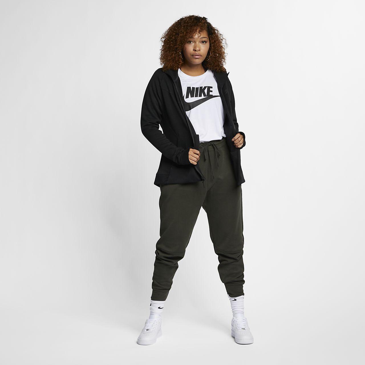 nike sportswear tech fleece plus size women 39 s full zip. Black Bedroom Furniture Sets. Home Design Ideas