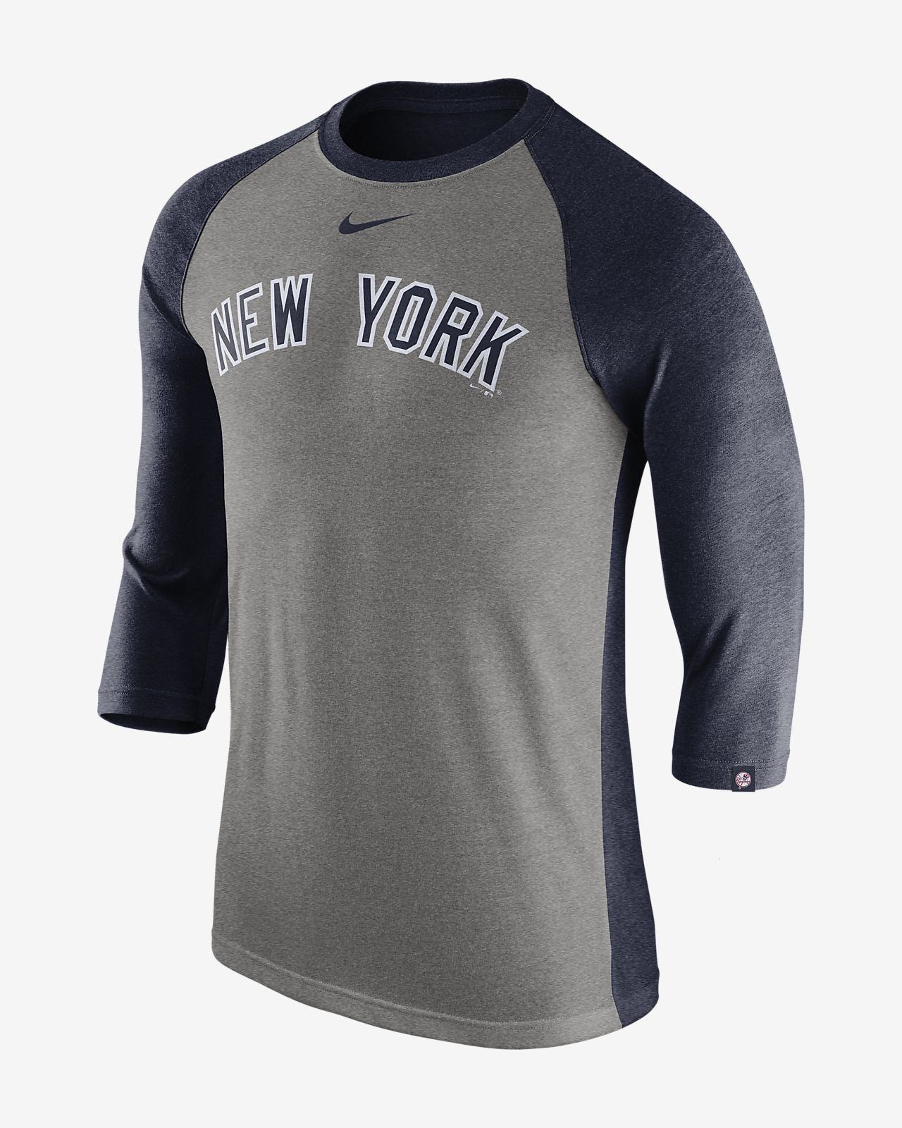Nike Tri-Blend (MLB Yankees) Men s 3 4-Sleeve T-Shirt. Nike.com 2c3fa2964af