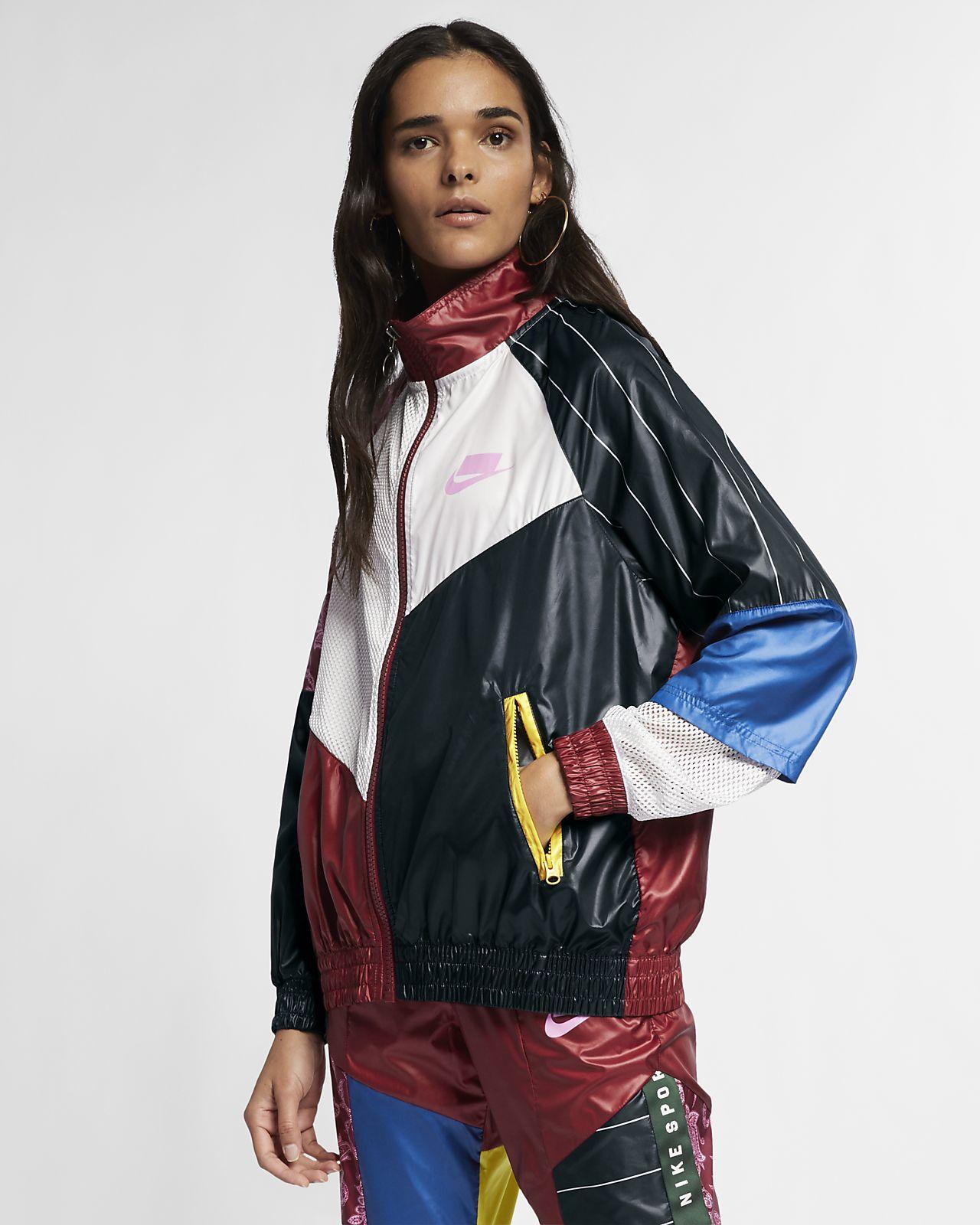Träningsjacka Nike Sportswear NSW i vävt material