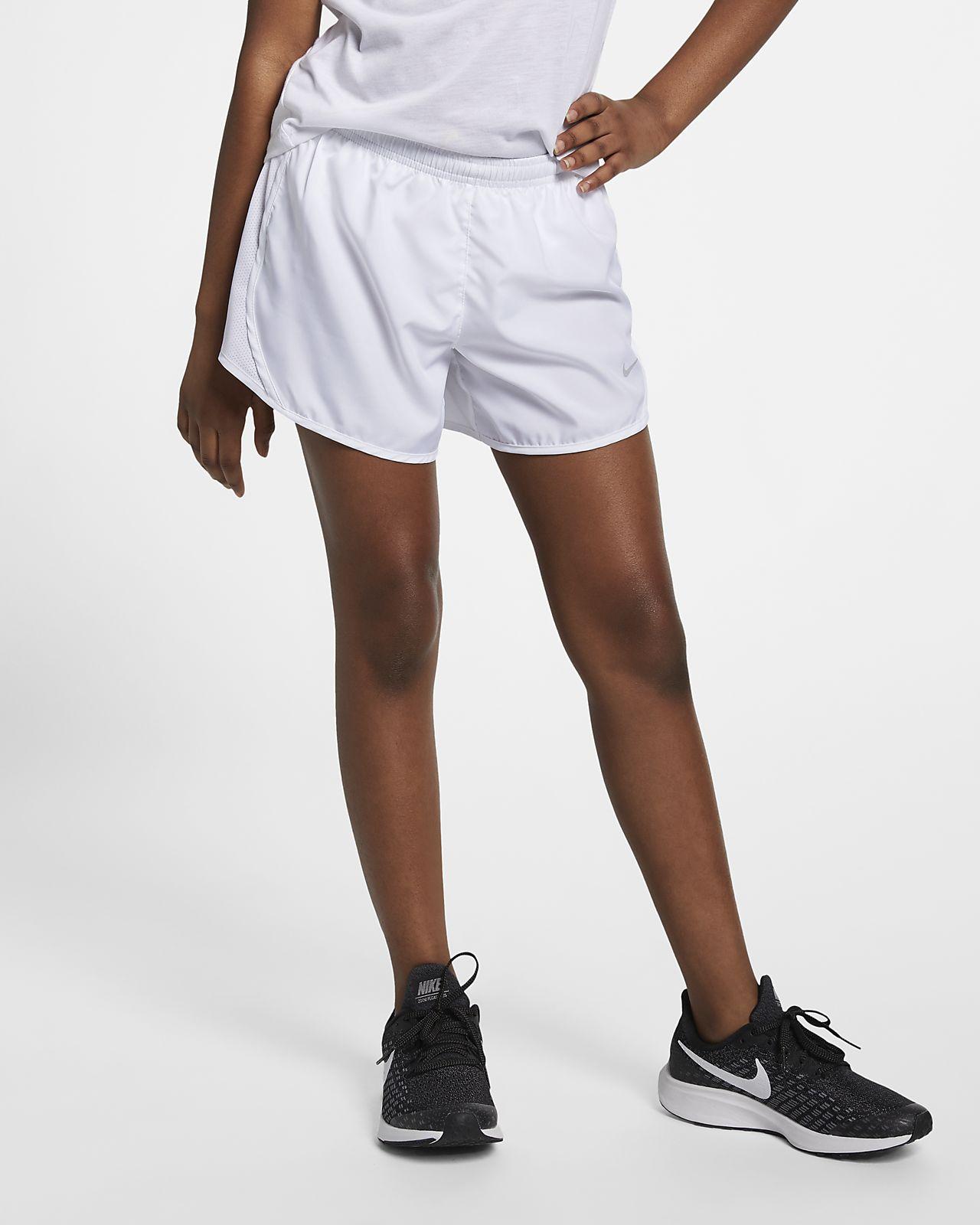 Nike Dri Fit Tempo Big Kids Girls Running Shorts Nike Com