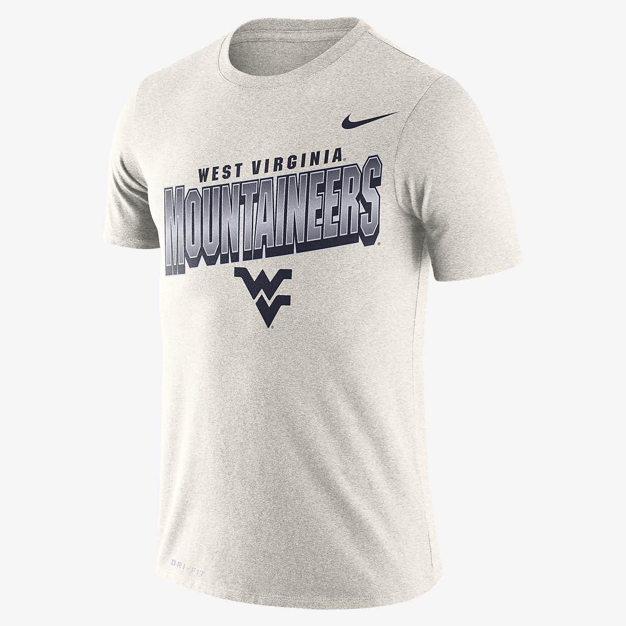 Nike College Dri FIT (West Virginia) Men's T Shirt