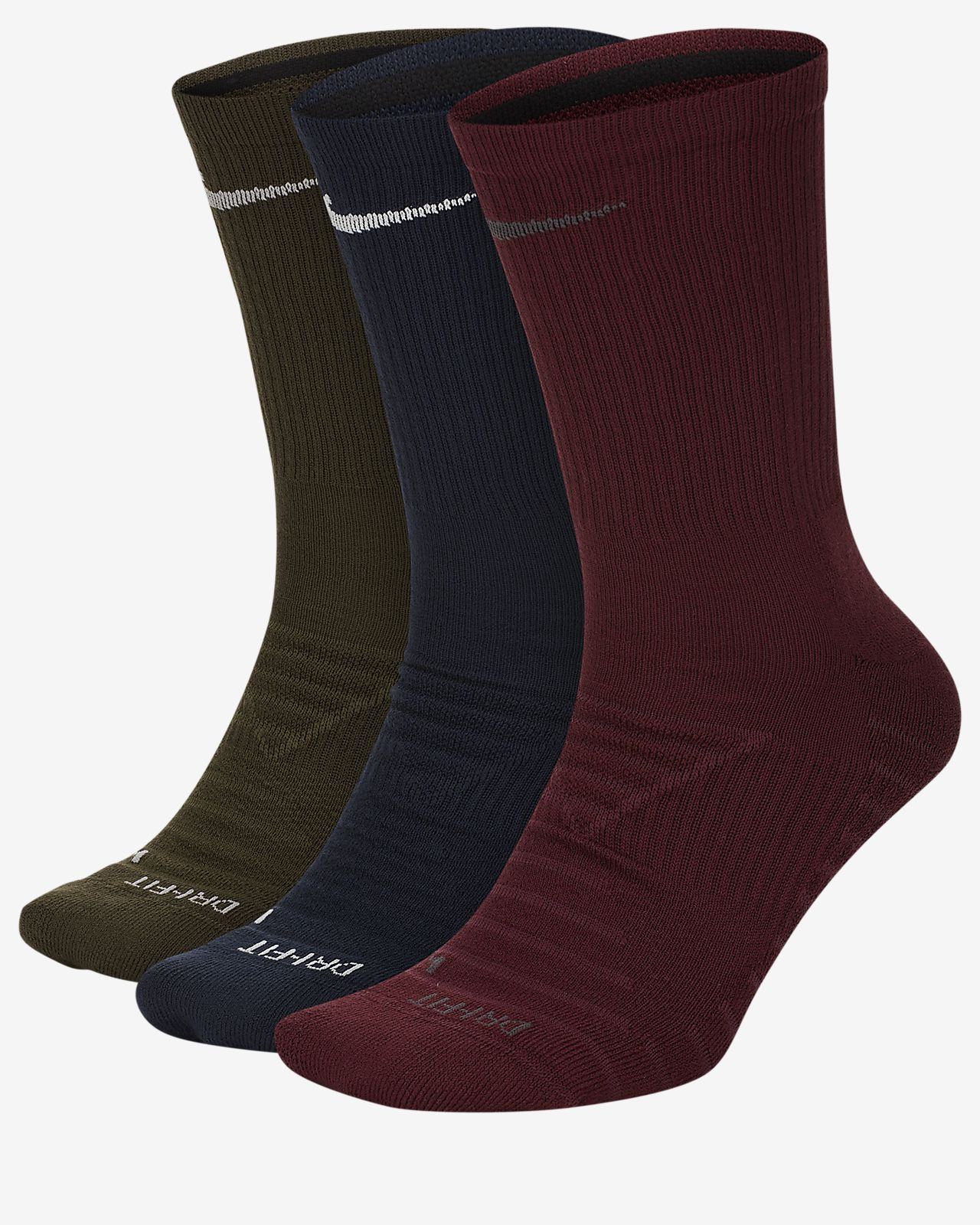 Nike Pro Everyday Max Cushioned Training Crew Socks (3 Pairs)