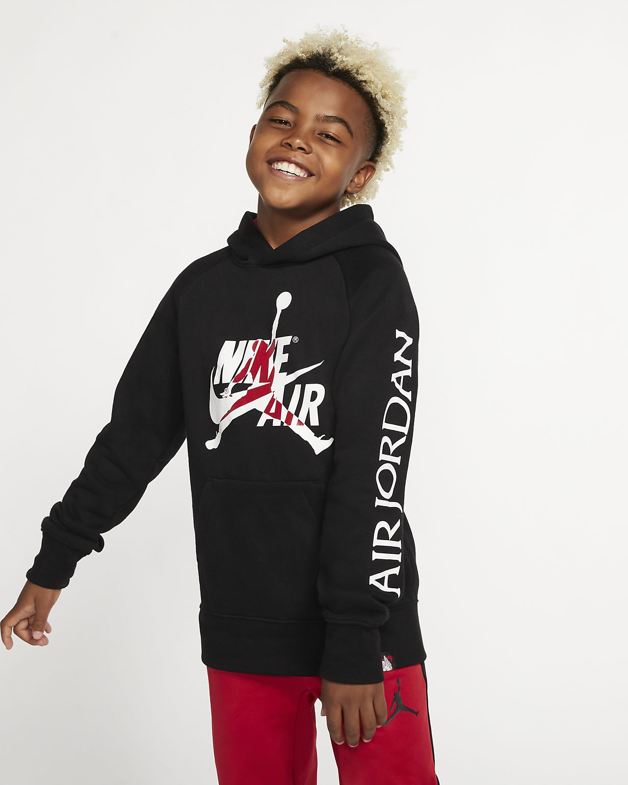 Jordan Jumpman Fleecehoodie voor jongens