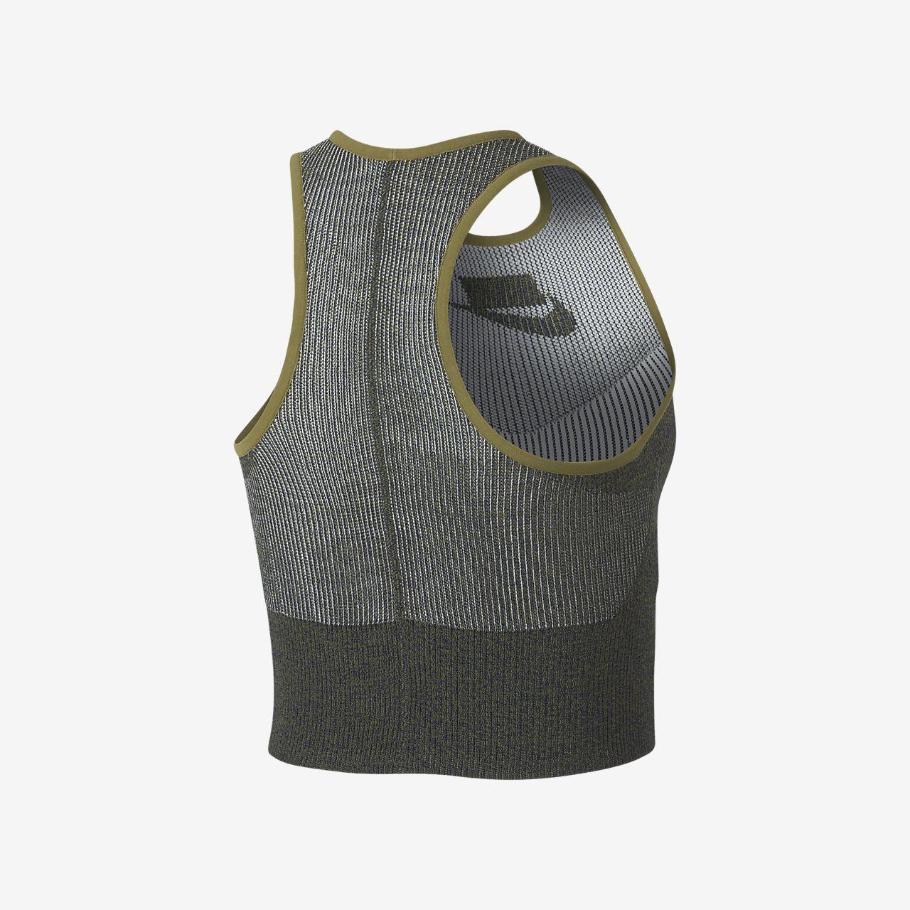 b2ab8888429 Nike Sportswear Tech Knit Women's Cropped Tank