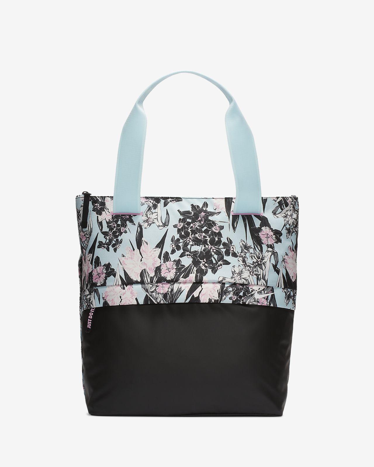 4796b194c8 Γυναικεία τσάντα ώμου για προπόνηση με φλοράλ σχέδια Nike Radiate ...