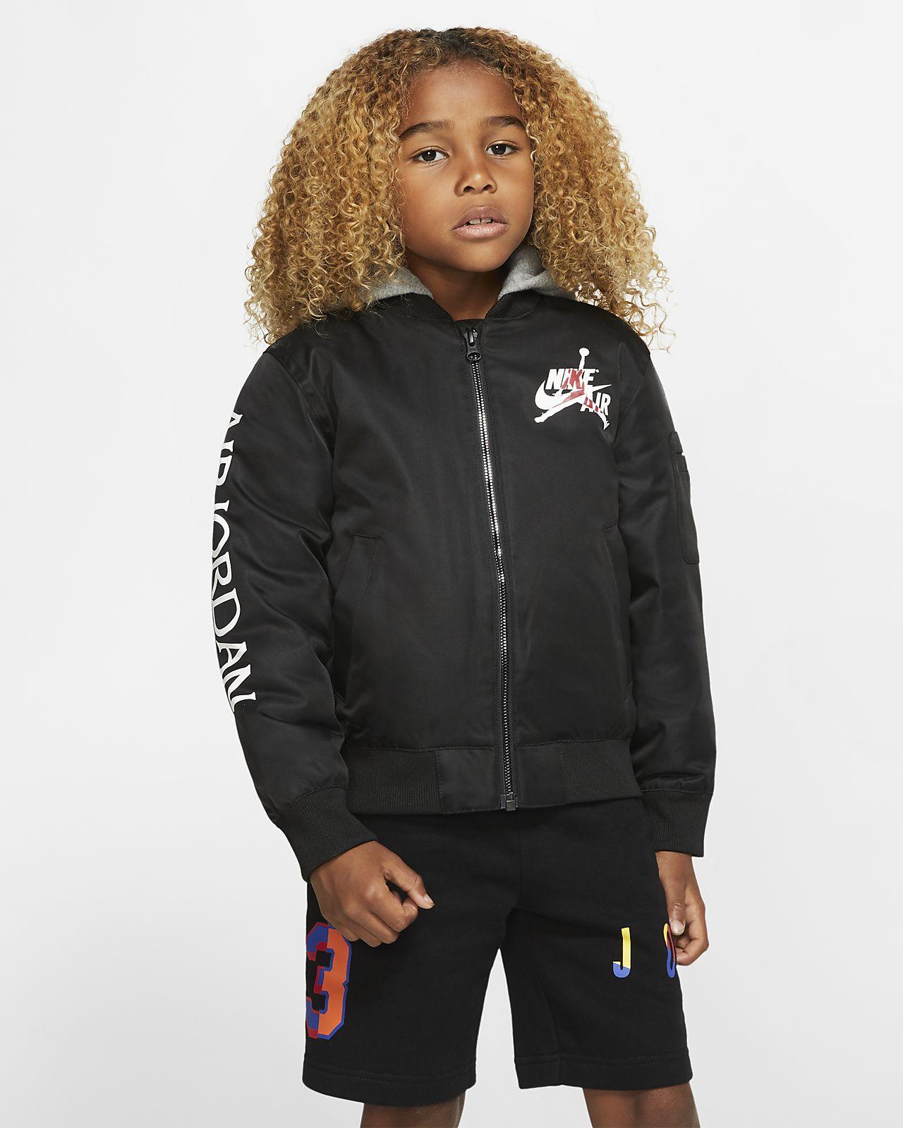 estilo moderno niño genuino mejor calificado Jordan Jumpman Chaqueta bomber con capucha - Niño/a pequeño/a