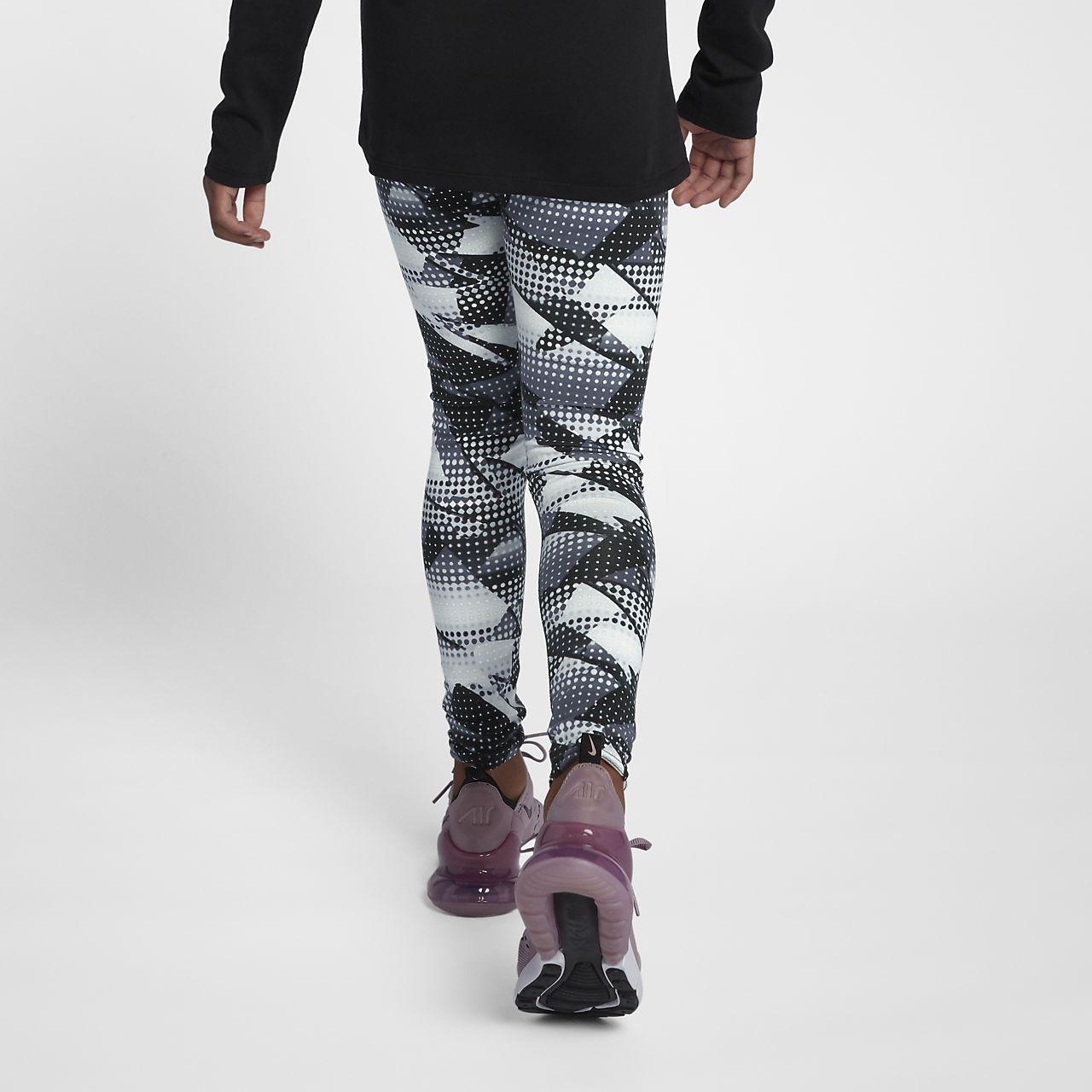 fdfea6785d Nike Sportswear mintás leggings nagyobb gyerekeknek (lányok). Nike ...