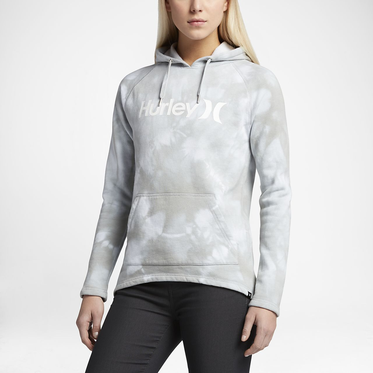 Hurley One And Only Cloud Wash Pullover Women's Hoodies Smoke