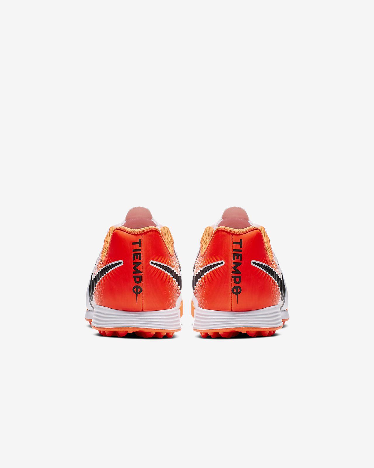 Nike Jr Tiempo Legend Vii Academy Tf Fussballschuh Fur Kunstrasen Fur Jungere Altere Kinder