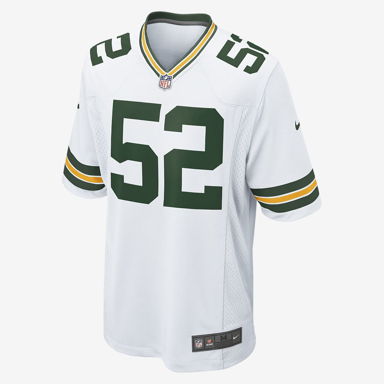 NFL Green Bay Packers (Clay Matthews) Men s Football Away Game ... 40408ce21341