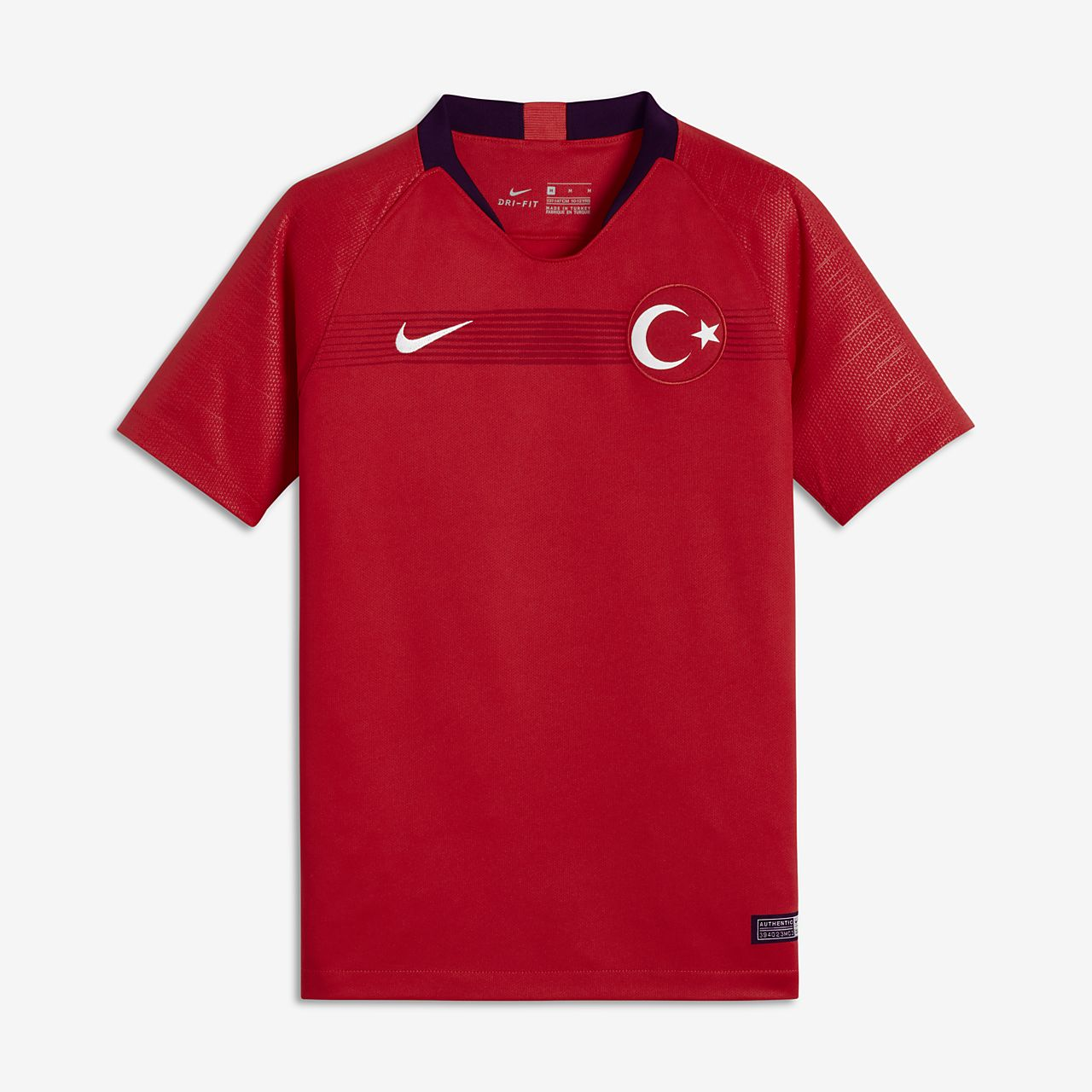 2018 Turkey Stadium Home/Away Older Kids' Football Shirt