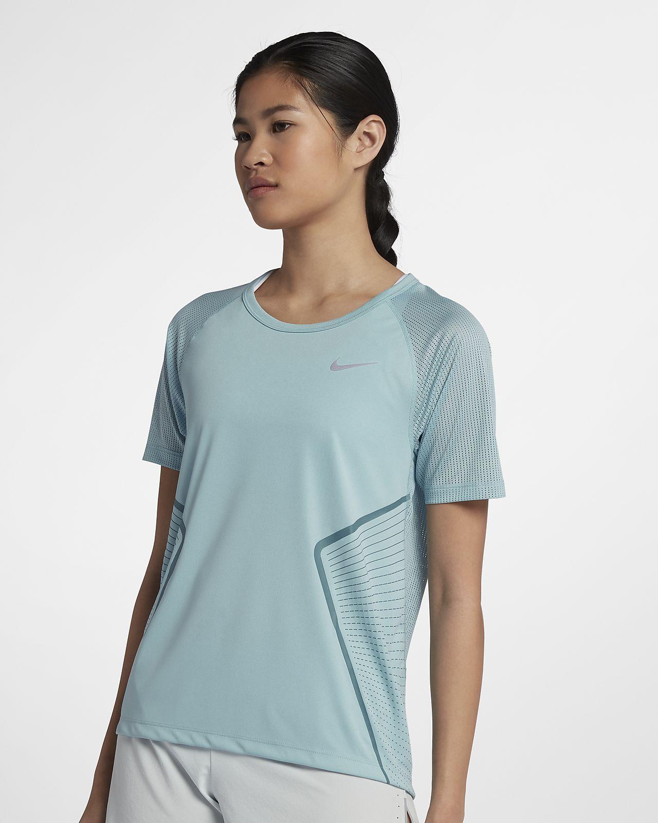 ... Nike Dri-FIT Miler Women's Short-Sleeve Running Top