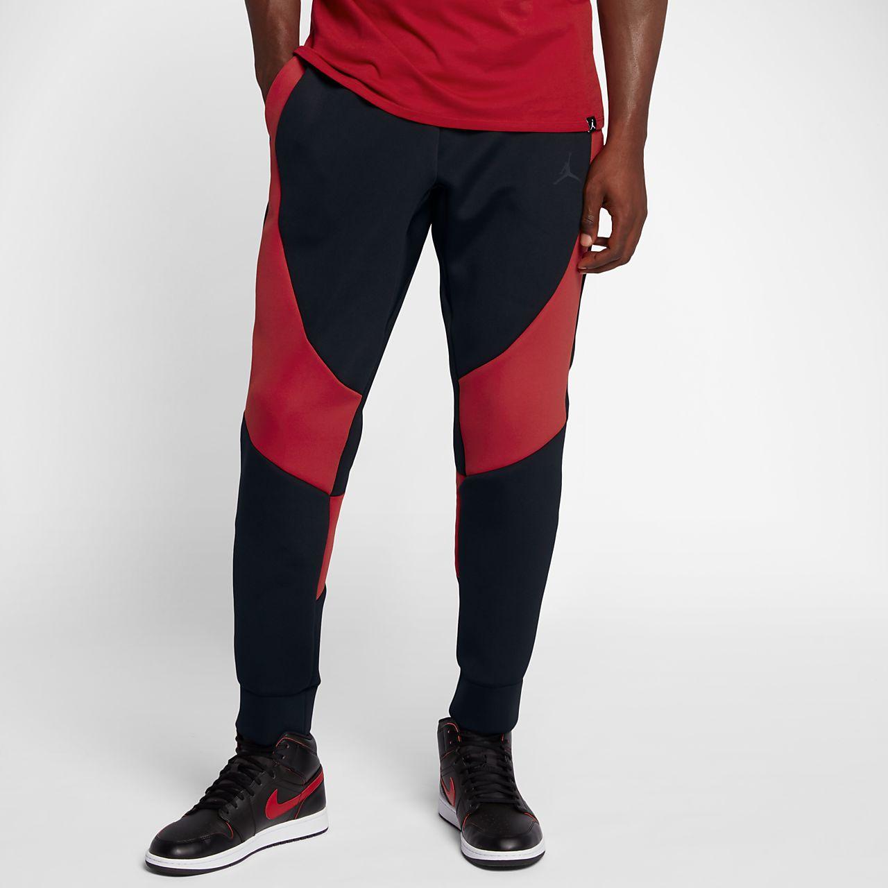8a67342876e black and red jordan fleece fabric jordan fleece pants