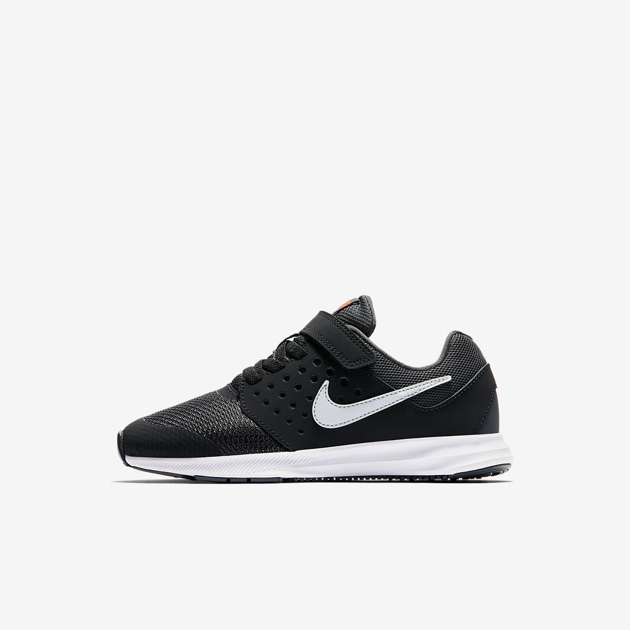 Nike Downshifter 7 - Boy Running Shoes - Black/Grey/Red