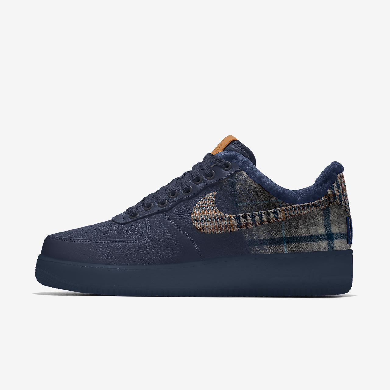 Chaussure personnalisable Nike Air Force 1 Low Pendleton By You pour Homme