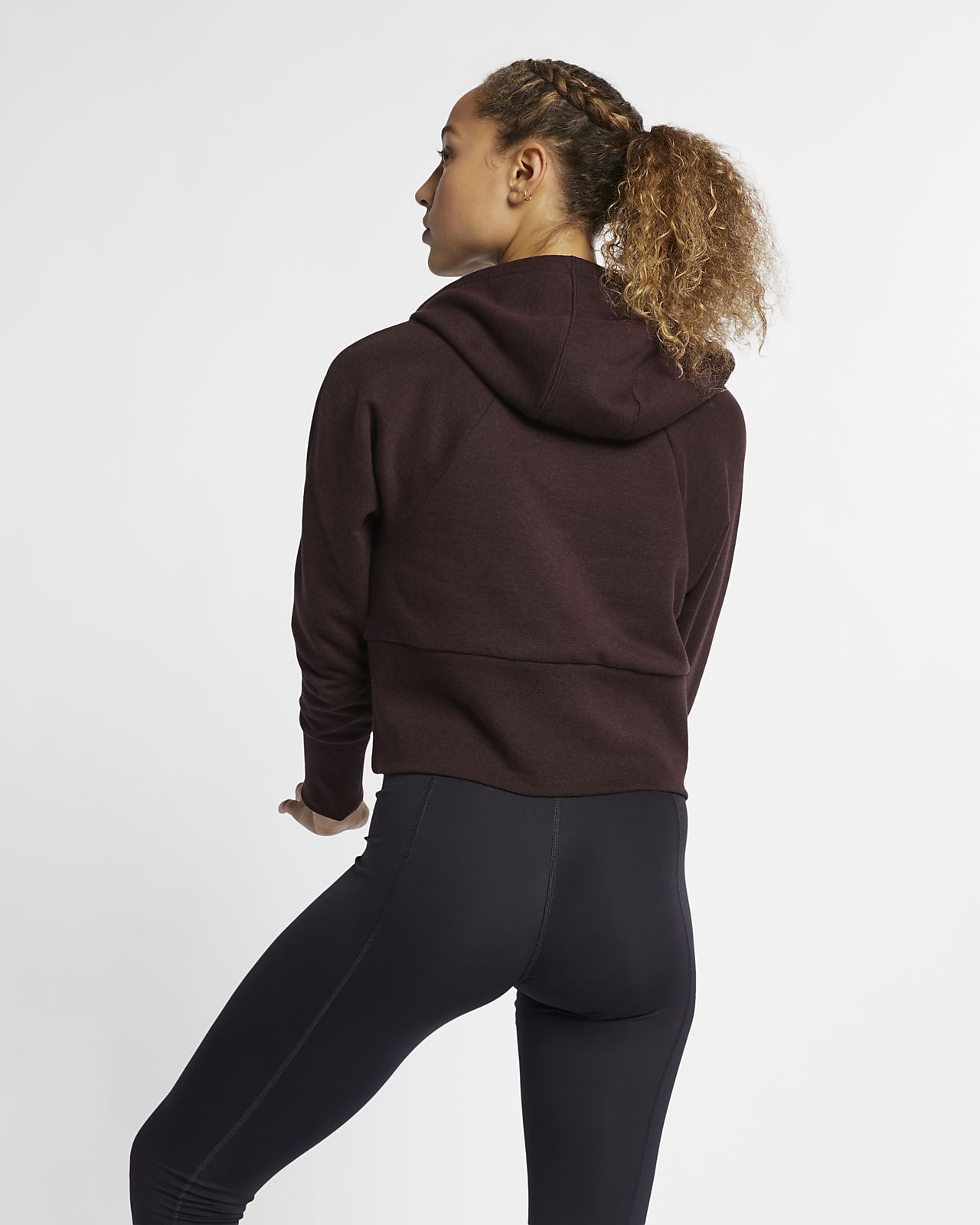 official photos 0887a 07a1b Nike Studio Women's Yoga Training Pullover Hoodie