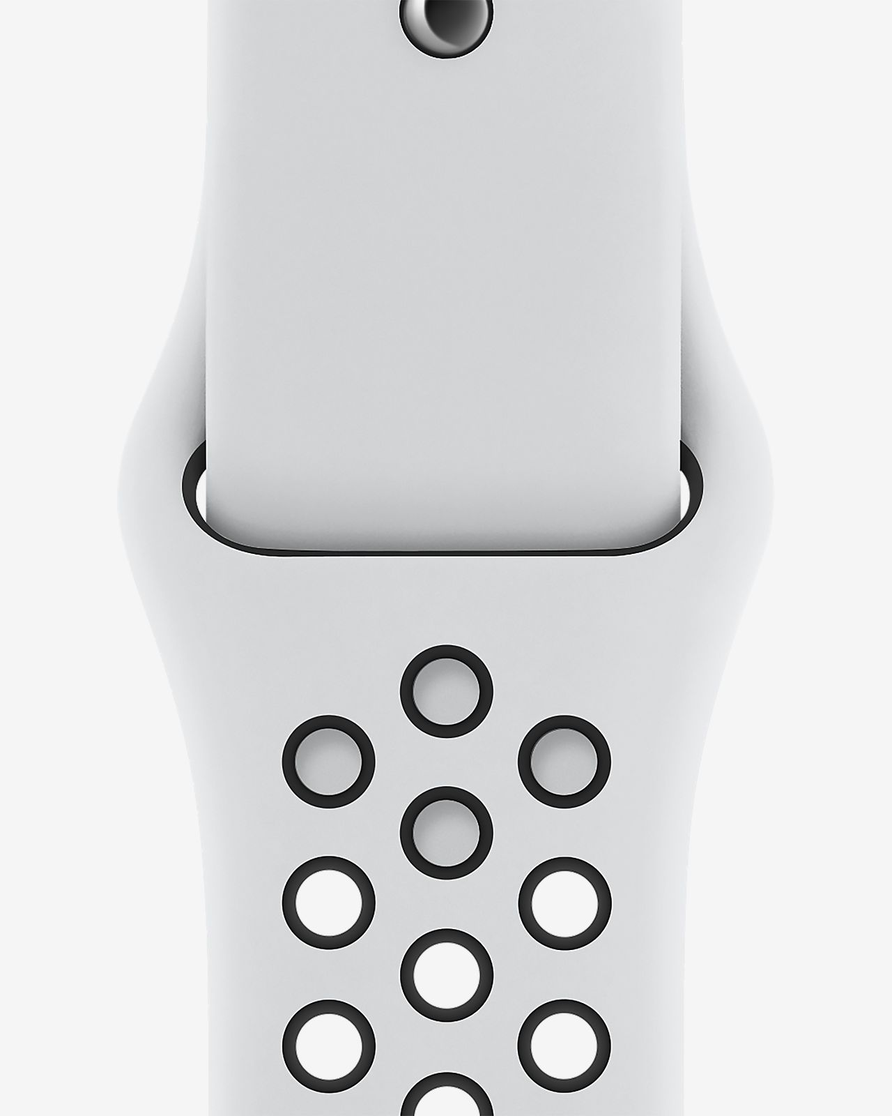 Apple Watch Nike 40mm Pure Platinum/Black Sport Band
