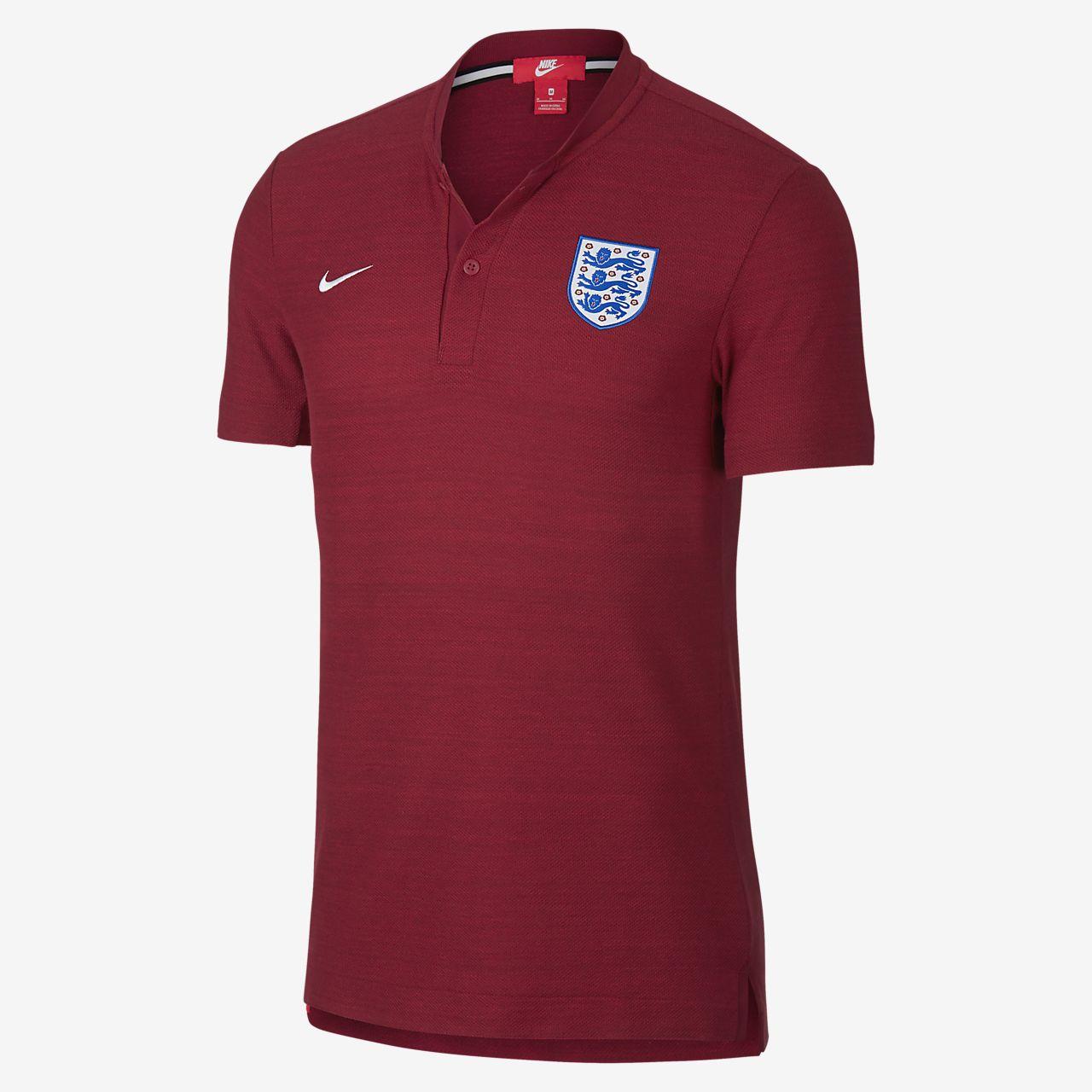5bdf00a46 England Authentic Grand Slam Men's Polo. Nike.com GB