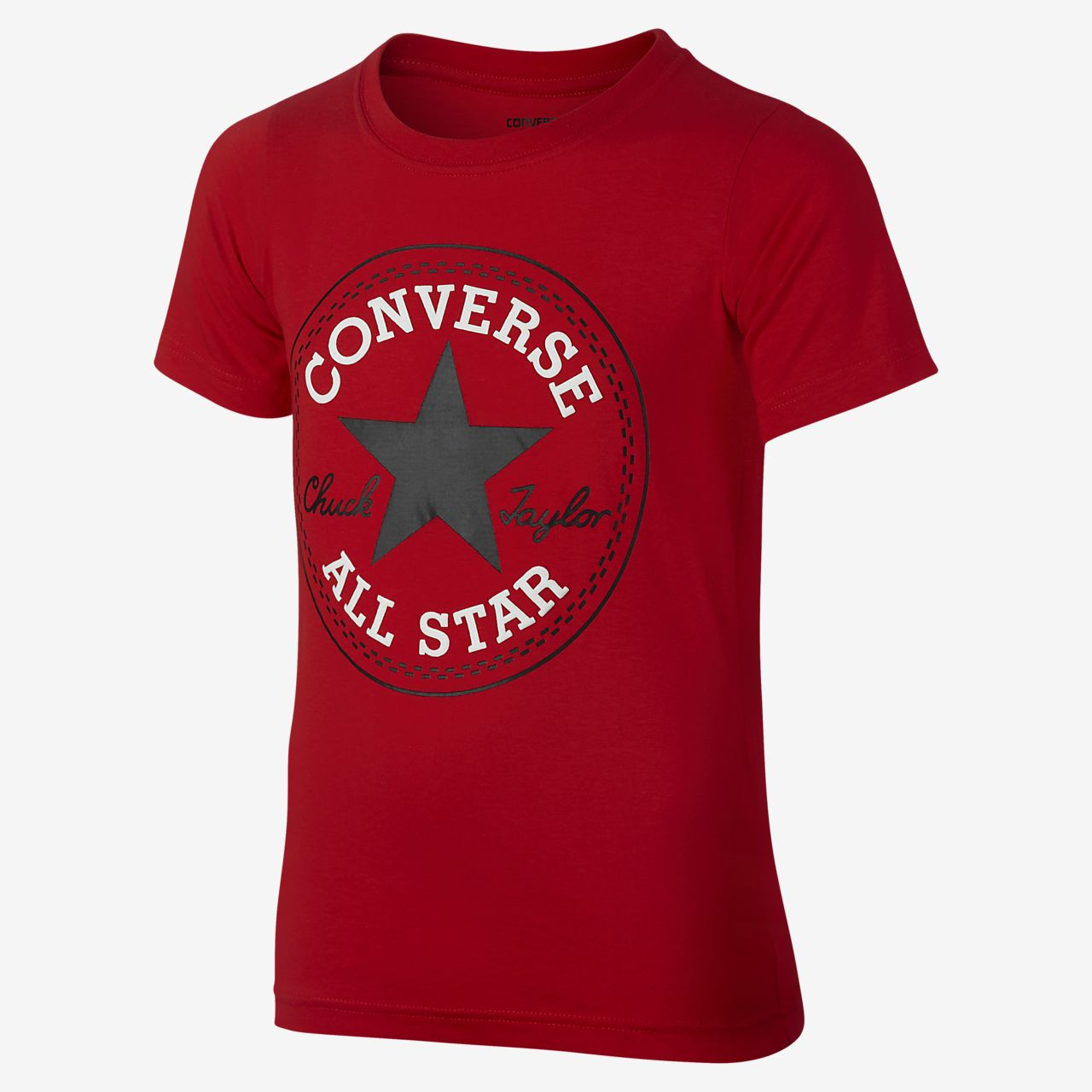 Converse Chuck Patch Women's T-Shirts Red