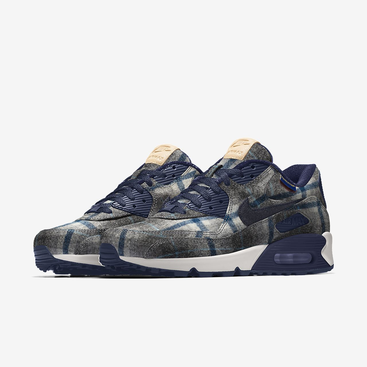 Nike Air Max 90 Pendleton By You Zapatillas personalizables Mujer