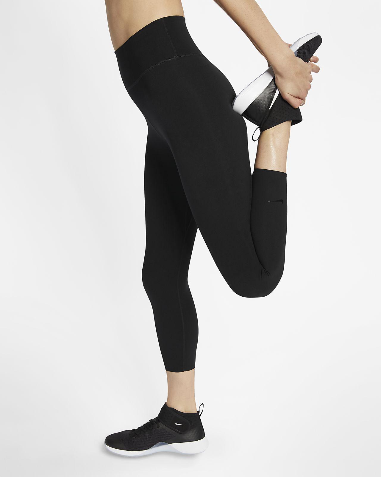 กางเกงเทรนนิ่ง 5 ส่วนผู้หญิง Nike One Luxe