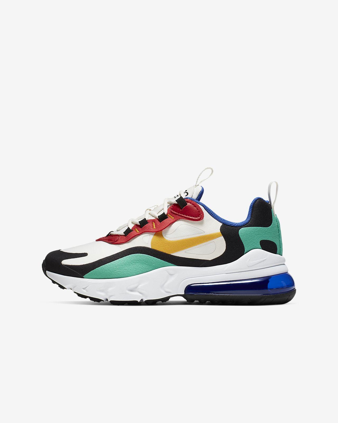 Nike Air Max 270 React (GS) 大童运动童鞋