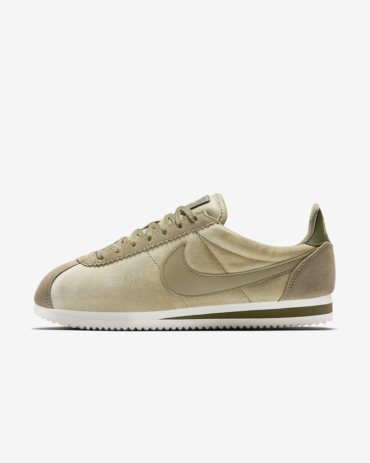 Chaussures De Cuir Sport Lage En Cuir De Classique Avec Nike Cortez lzZMj 420283