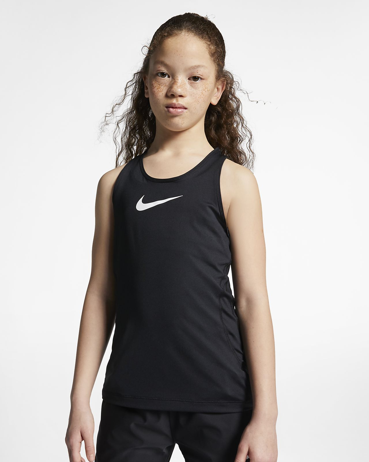 Camiseta de tirantes para niña talla grande Nike Pro