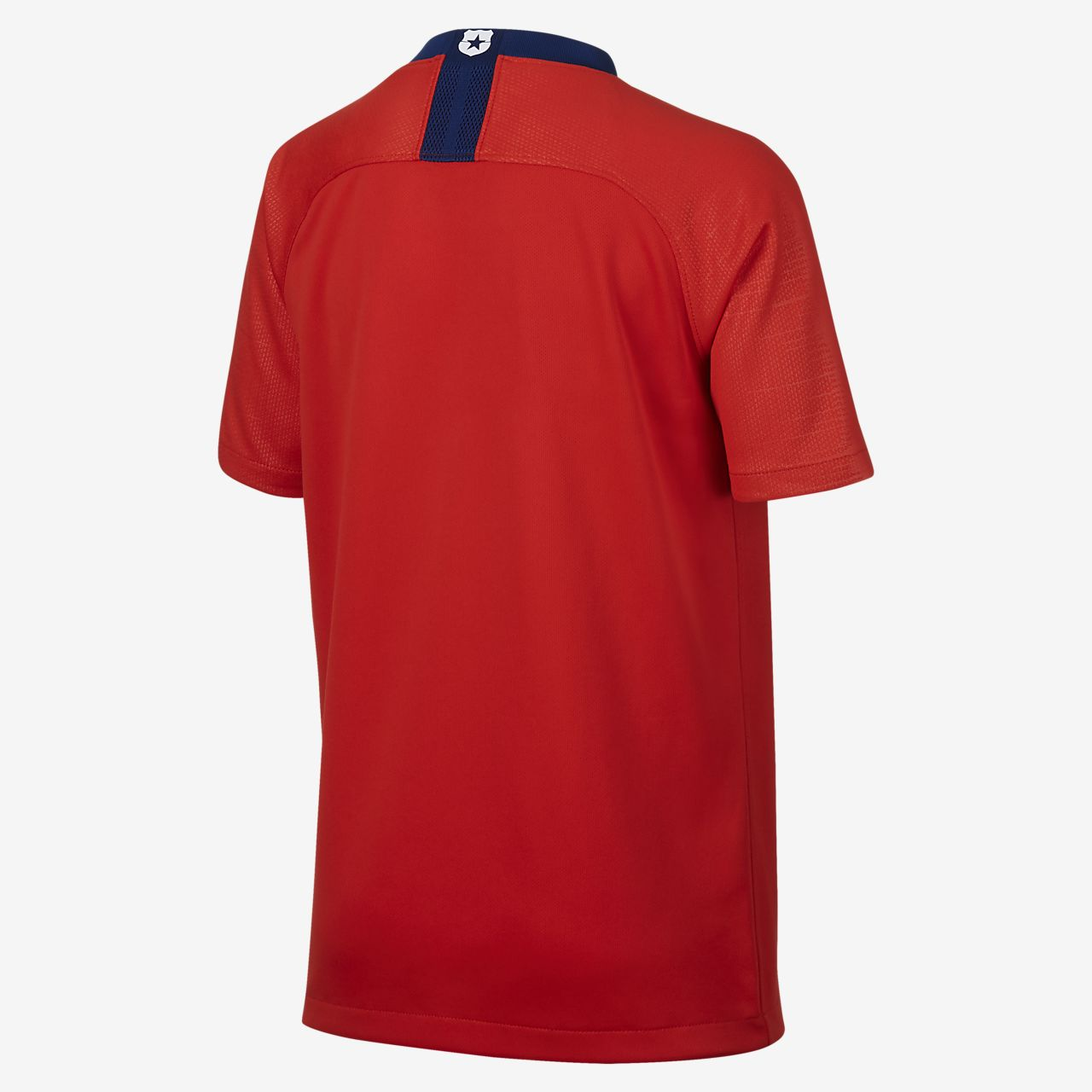 9b7b5a922 Camiseta de fútbol para niño talla grande 2018 Chile Stadium Home ...