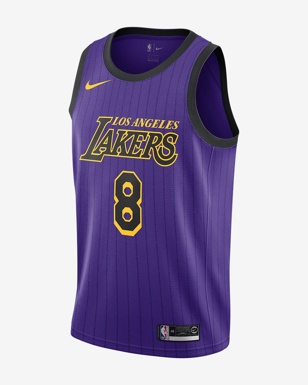 Kobe Bryant City Edition Swingman (Los Angeles Lakers) 男款 Nike NBA Connected Jersey