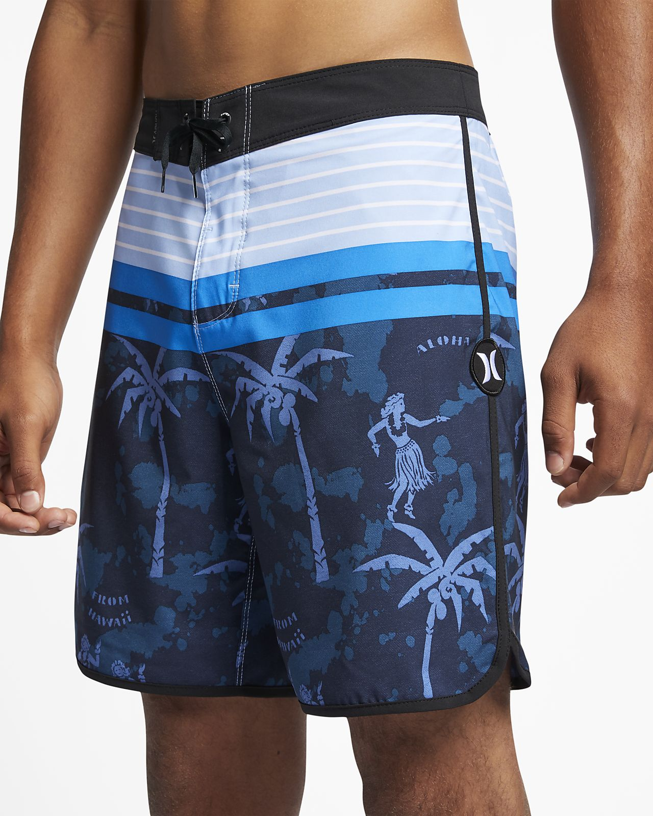 "Hurley Phantom Aloha Twist Men's 18"" Board Shorts"
