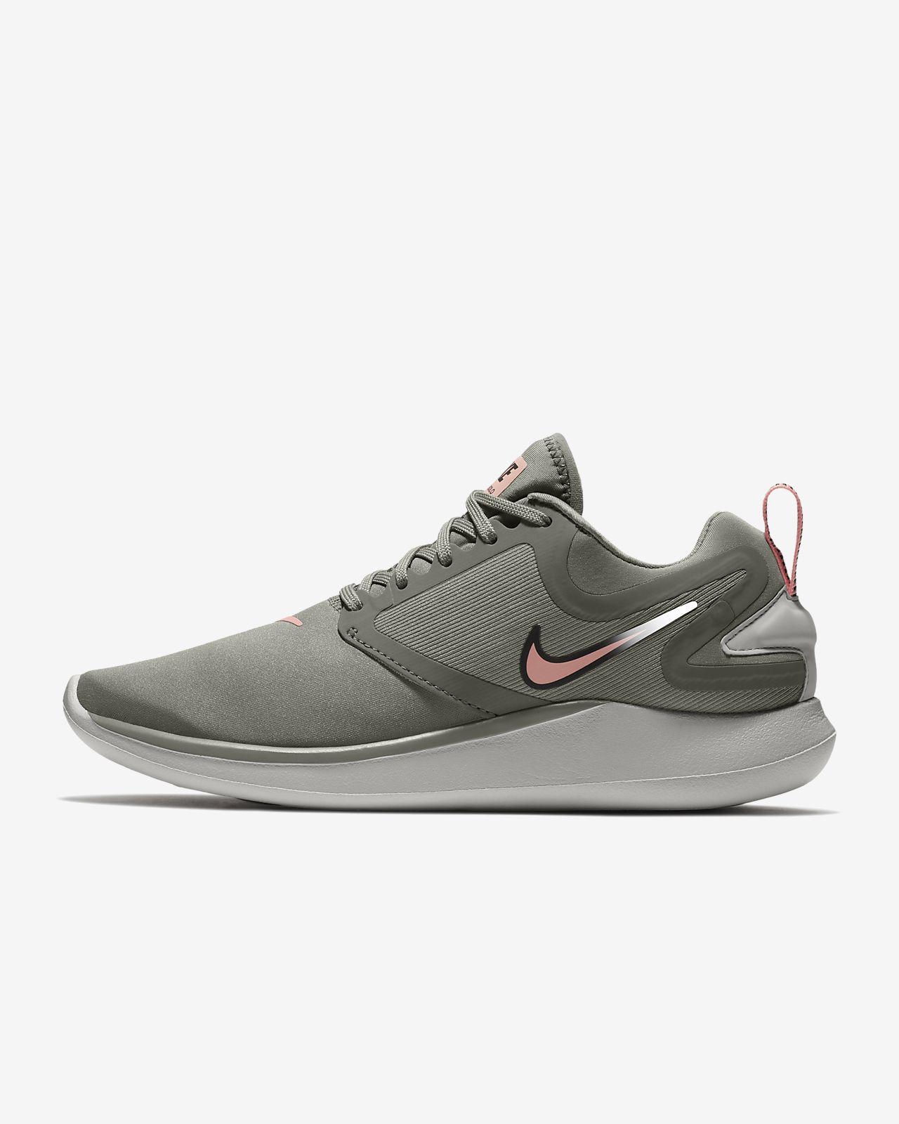 Nike Wmns Lunarsolo Dark Grey/Multu-Color-Black Running Training AA4080-012