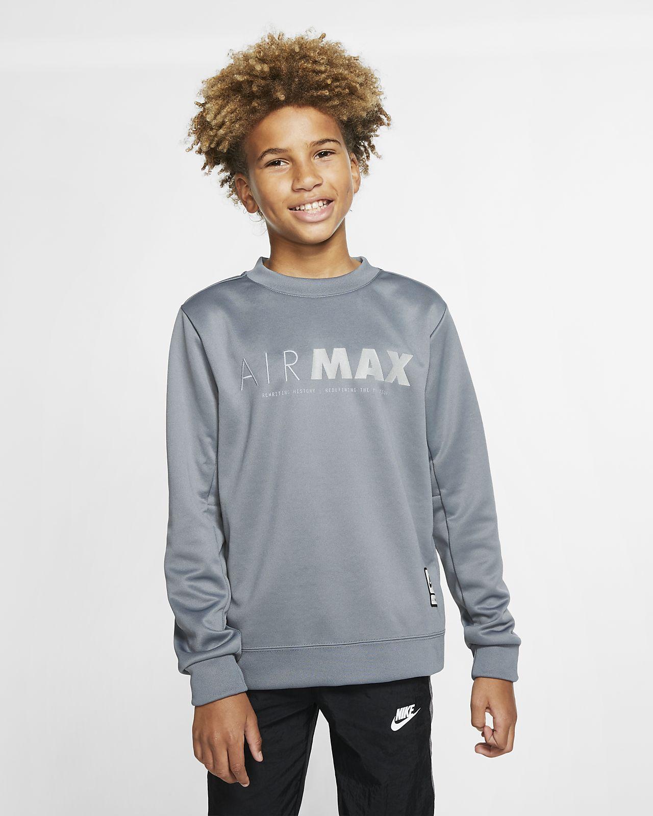Niño Air Sudadera Nike Max Sportswear J3KcT1lF