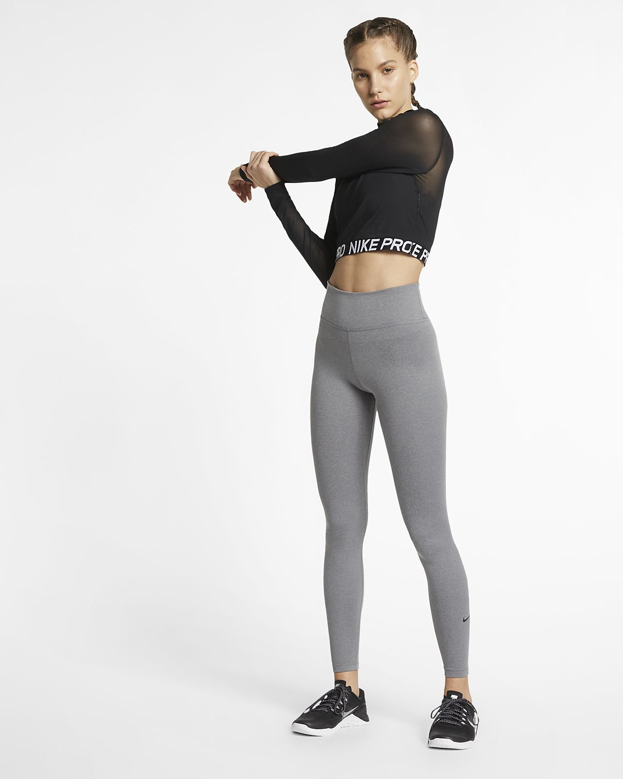 344736f2bb4901 Nike Pro Women s Long-Sleeve Top. Nike.com AU