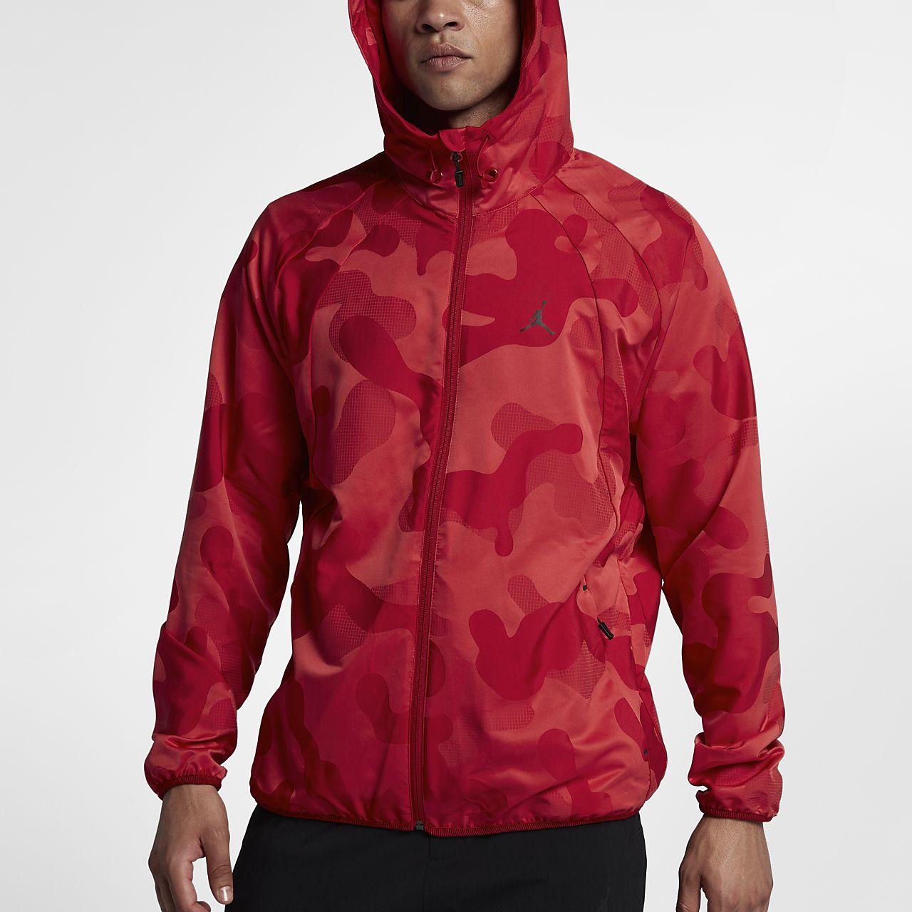 Jordan Sportswear Wings Camo Packable Windbreaker Men's Jacket ...