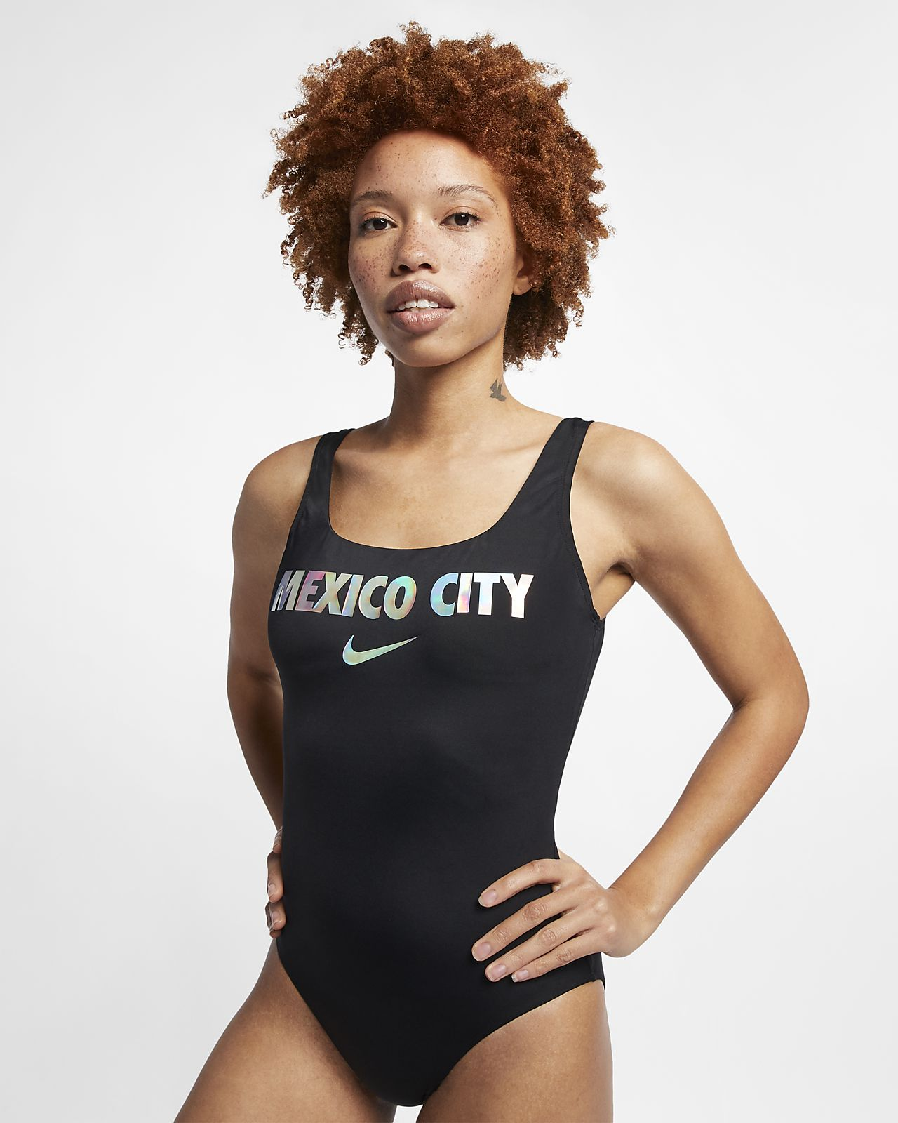Nike Swim City Series (Mexico City) einteiliger Badeanzug für Damen