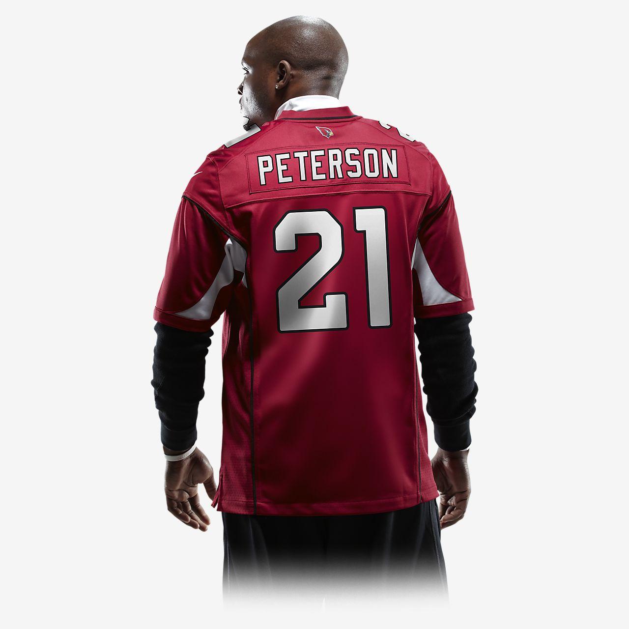 c286d76a13566 ... NFL Arizona Cardinals (Patrick Peterson) Men's American Football Home  Game Jersey
