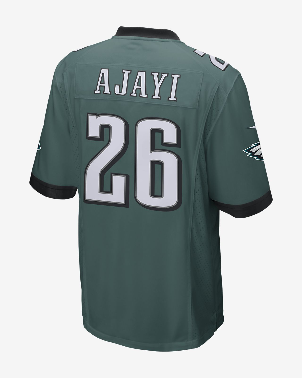 huge discount 980e7 172de NFL Philadelphia Eagles (Jay Ajayi) Men's Game American Football Jersey