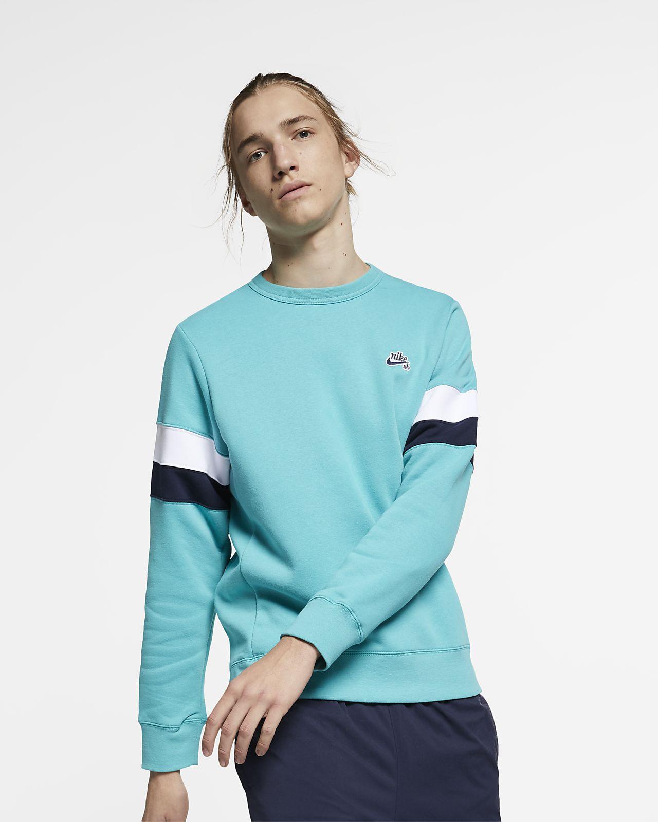 Haut de skateboard en tissu Fleece Nike SB Icon pour Homme