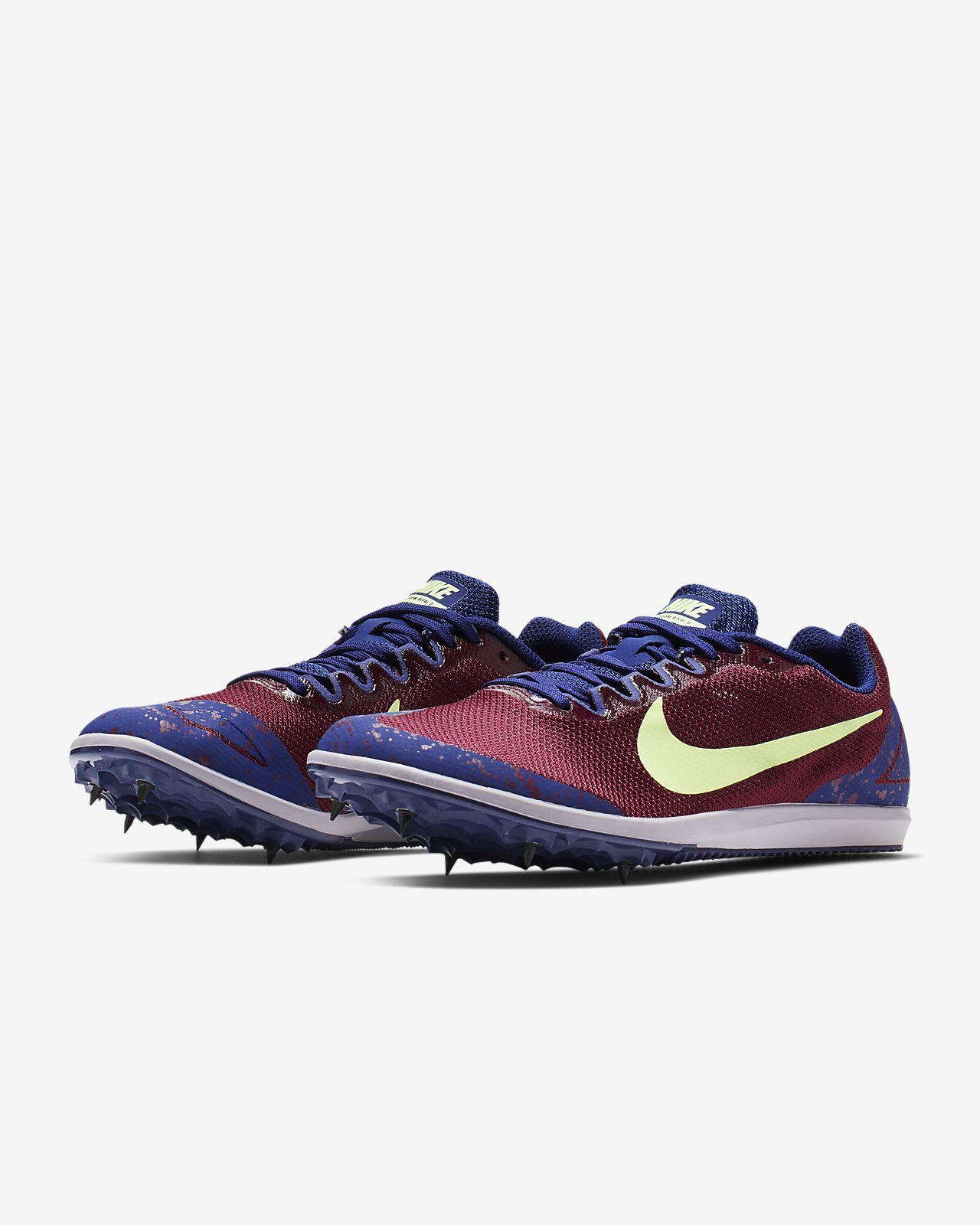 Nike Zoom Rival D 10 Track Spike Spikes für Damen Blau