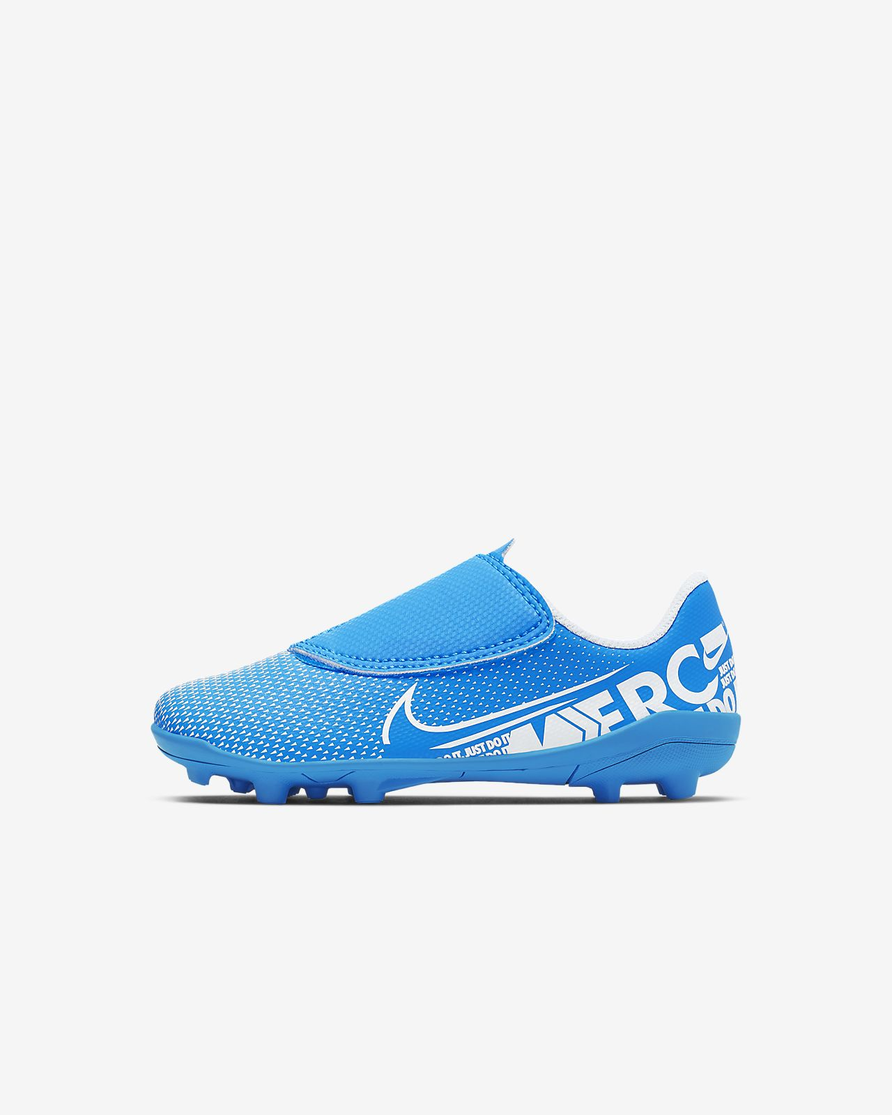 Fotbollssko för varierande underlag Nike Jr. Mercurial Vapor 13 Club MG för små barn/barn