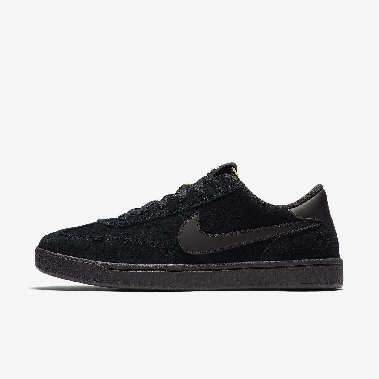Da Uomo Nike SB Fc Classic Suede sintetico nero con logo Calzature Scarpe Da Ginnastica